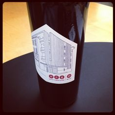 #MCG #wine label designed by our very own Kellie Crye.