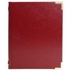 Bonded Leather Peel Menu Cover