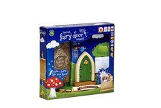 Irish Fairy Door Green Arched