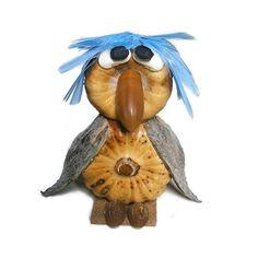 Termésbáb madár mákgubóból Rooster, Animals, Animales, Animaux, Roosters, Animal Memes, Animal, Animais, Dieren
