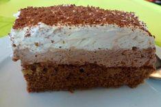 Diese Cremige Nutellaschnitte ist der absolute Renner auf Kindergeburtstagen. Ein unkompliziertes Rezept! Tiramisu, Vanilla Cake, Cheesecake, Food And Drink, Sweets, Baking, Ethnic Recipes, Desserts, Leo