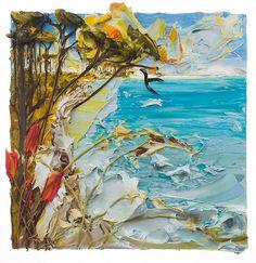 24x24 Seascape By: Justin Gaffrey