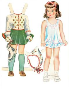 The Paper Collector: Lois paper doll-cutest paper doll (this is a great site for all sorts of ephemera)