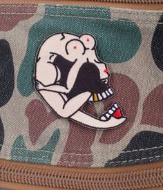 Image of Skull Girl Patch