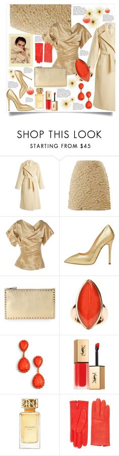 """christmas party"" by valerie-42 ❤ liked on Polyvore featuring MaxMara, Kenzo, Vivienne Westwood, Giuseppe Zanotti, Valentino, Vhernier, Loren Hope, Yves Saint Laurent, Tory Burch and Hermès"