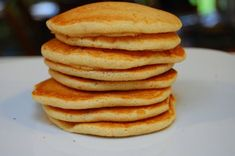 """Vegan fluffy and """"airy"""" pancakes"""