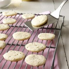 Lemon & Rosemary Shortbread Cookies Recipe (I saw these at Whole Foods ...