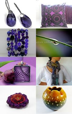 Predominantly Purple by Cozy on Etsy--Pinned with TreasuryPin.com