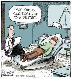 First time at the dentist? #humour