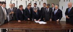 Galdino Saquarema 1ª Página: Confirmados os ministeriado do presidente interino Michel Temer (PMDB)