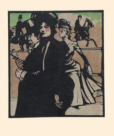 Lady, Rotten Row, 1898