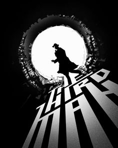 """The Third Man"" starring Joseph Cotton, Alida Valli, Orson Welles and Trevor Howard. Directed by Carol Reed."