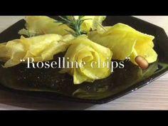 """""""Roselline chips"""" ricetta sprint - TUTTI A TAVOLA - YouTube"""