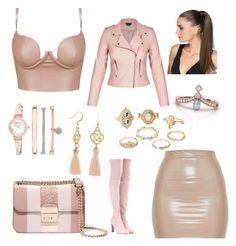 🌸🌸Nude 🌸🌸 by lauren-pamela on Polyvore featuring polyvore, fashion, style, Stuart Weitzman, MICHAEL Michael Kors, Anne Klein, Charlotte Russe and clothing