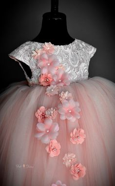 FabTutus   Products   Anna Triant Couture   Mist in Blush & Ivory