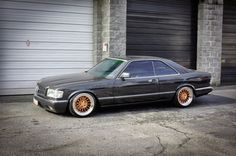 Mercedes-Benz W126 560SEC on Niche Citrine Wheels | BENZTUNING | Performance and Style