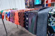 #FashionSnoops at #MAGIC, #SS17 trends on #WeConnectFashion. Mood fabrics: ARISE