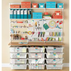 elfa utility Label Holders | The Container Store