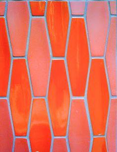 Formatos que nunca dejarán de trasmitir calidez y pureza. heath ceramics orange tiles