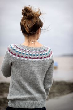 Lighthouse Pullover – MadderMade – Le Fil à Coudre d'Anna