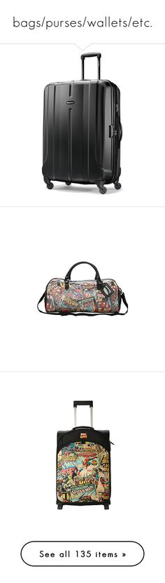 """""""bags/purses/wallets/etc."""" by the-cornetto-queen ❤ liked on Polyvore featuring bags, luggage, beauty products, messenger bags, backpacks, my chemical romance, mcr, tote bag, backpack messenger bag and handbags totes"""
