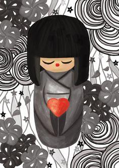 Image from http://fc01.deviantart.net/fs70/i/2011/078/f/3/kokeshi_pour_le_japon_by_faratiana-d3bymco.jpg.