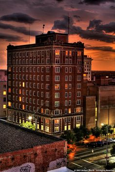 """""""Downtown Lincoln, Nebraska - August 20, 2007 - HDR"""" by Zuiun"""