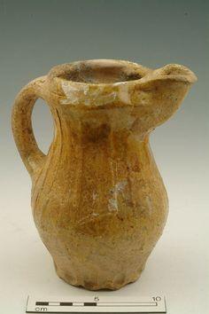 Jug, mid 13th-14th century   Museum of London