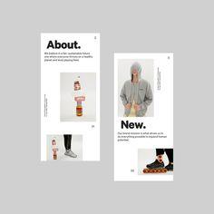 2365 Minimal Web Design, Website Design Inspiration, Mise En Page Magazine, Fashion Web Design, Mobile Web Design, App Icon Design, Newsletter Design, Global Design, Photoshop
