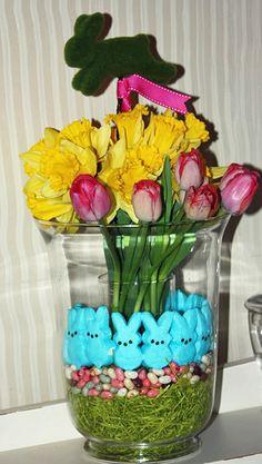 Spring Flower Arrangement