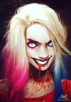 "art-of-cg-girls:  ""Psycho Harley by Amanda Duarte  """
