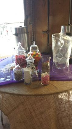 Candy table Candy Table, Jar, Country, Wedding, Home Decor, Casamento, Homemade Home Decor, Candy Stations, Rural Area