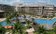 CÓDIGO: 593 - Apartamento de 107m2 com 3 dormitórios e 1 suíte com 1 vaga de garagem. O Beach Park Living está na melhor localização do Porto das Dunas, com varias opções de lazer, parque acquatico, projeto paissagistico, totalmente de frente para o mar. R$ 750.000,00