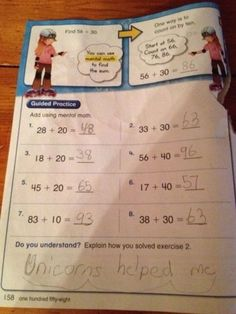 "This kid who knew his teacher couldn't technically prove him wrong with this answer. | 21 Kids Who Refused To Play Along With The Teacher's ""Rules"""