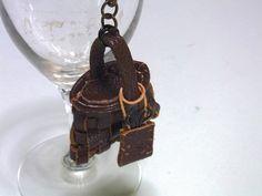 Leather craft  Miniature accessories  Opus 7  Bag