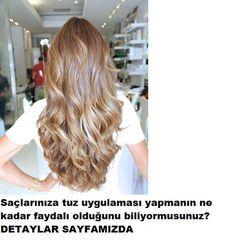 saçlara tuz uygulamasının faydaları