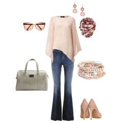 casual lunch, created by earthwaterfireair.polyvore.com
