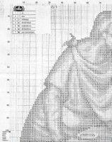 "Gallery.ru / geminiana - Альбом ""25.155"" Lily, Santa, Angel, Christ, Punto Croce, Dot Patterns, Christmas Crafts, Blanco Y Negro, Last Supper"