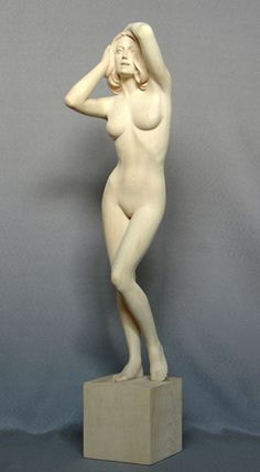 Female Nude - Linden wood