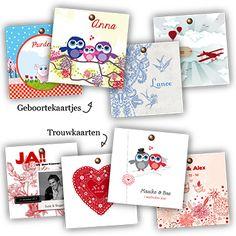 Geboorte- en Trouwkaarten van www.leintjes.nl