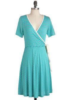 Aqua Moment Dress