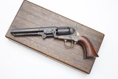 GUN OF THE DAY – Cased & Engraved Colt M1849 at the NRA National Firearms Museum in Fairfax, Virginia.