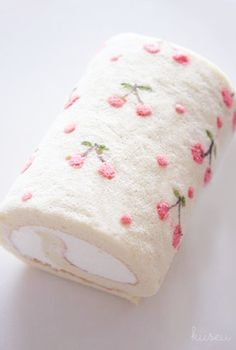 Cute idea for the pattern on a roll...