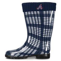 MLB - Atlanta Braves Women s Rain Boots - Walmart.com cf875579b