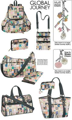LeSportsac And Disney Turn Mary Blairs Artwork Into Fashion With The Its A Small World Collection