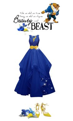 """""""Disney's Beauty & The Beast #beast (#763)"""" by nobility99 ❤ liked on Polyvore featuring Steve Madden and Carrera y Carrera"""