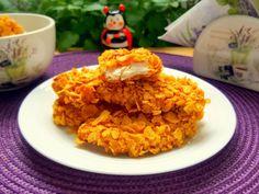 Muschiulet de pui in crusta de fulgi de porumb - imagine 1 mare Tzatziki, Risotto, Grains, Rice, Ethnic Recipes, Food, Eten, Seeds, Meals