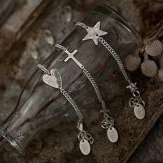 The Little Black Dress Boutique Limited. Tutti & Co Silver Cross Connector Bracelet BR37CS
