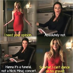 Hanna and her mom