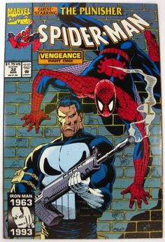 Spider-Man #32 Punisher 1st Master of Vengeance Marvel Comics (1993) $1.50